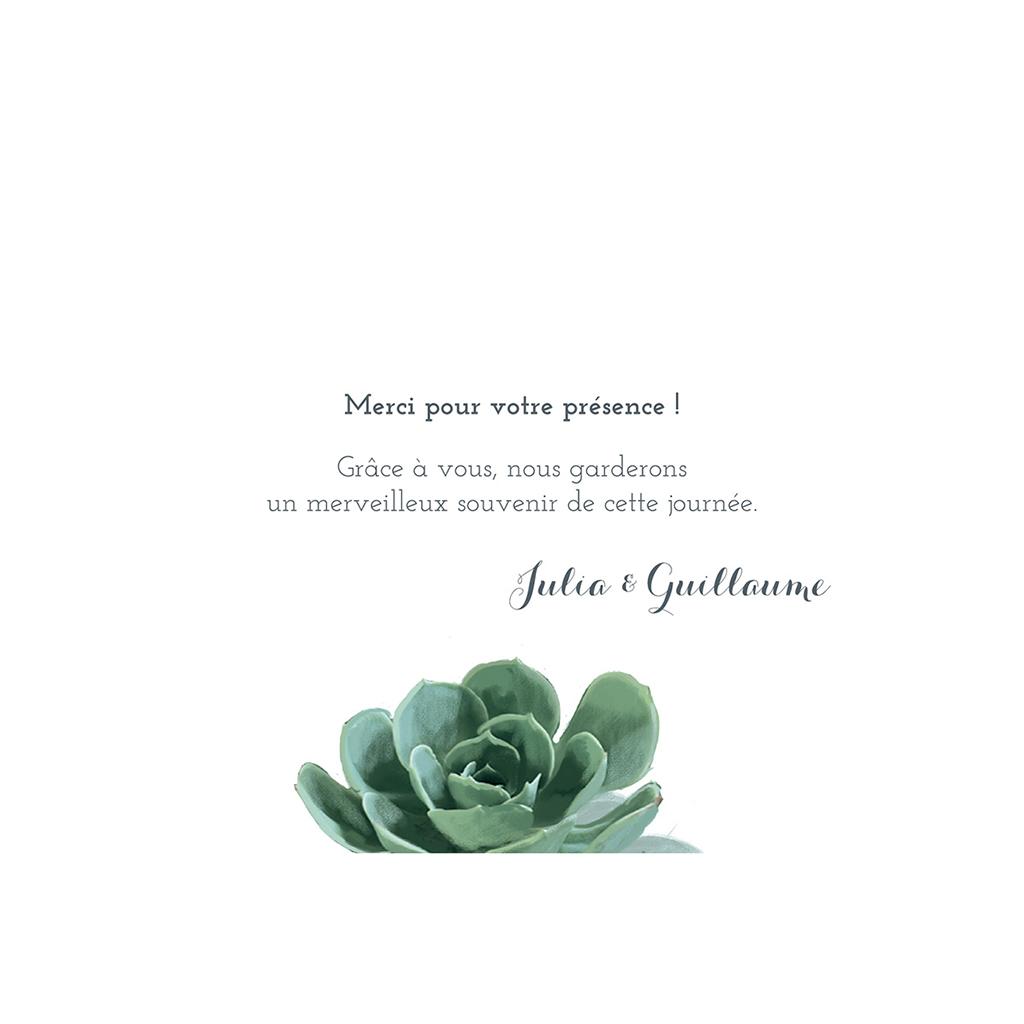 Carte de remerciement mariage Arizona gratuit