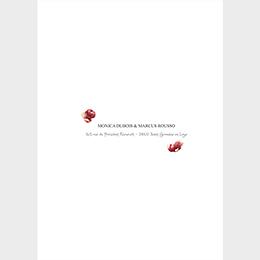 Faire-part de mariage Rouge champêtre gratuit