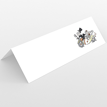 Marque-place mariage Sidecar