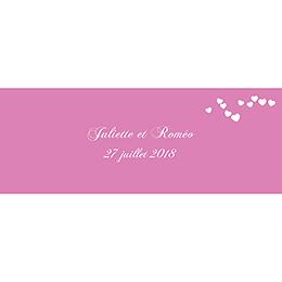Marque-place mariage Romeo et Juliette  pas cher