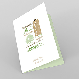 Menu mariage Adam et Eve
