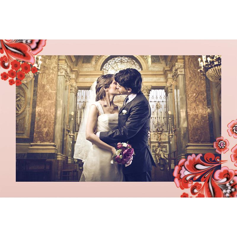 Carte de remerciement mariage Matriochkas  gratuit