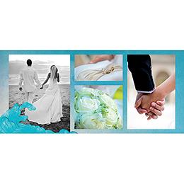 Carte de remerciement mariage Le Voilier  gratuit