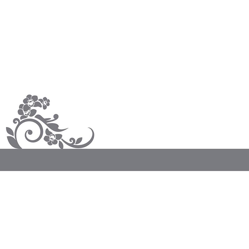 Marque-place mariage Cérémonie gris gratuit