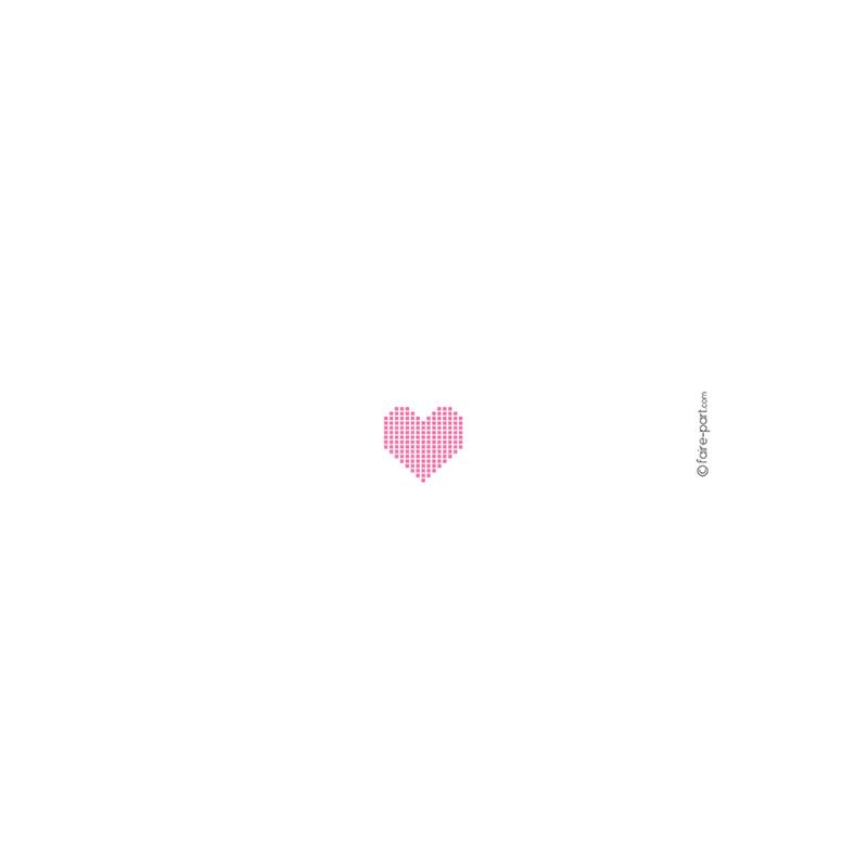 Menu mariage Love.com