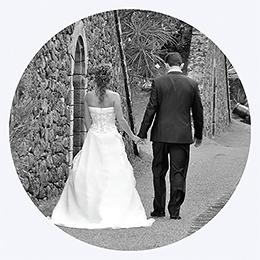 Carte de remerciement mariage Nuptial rond noir rose pas cher