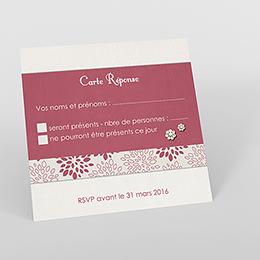 Carton réponse mariage Promesse