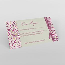 Carton réponse mariage Secrets