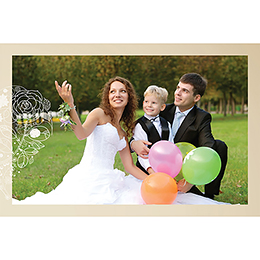 Carte de remerciement mariage Youpi 2 garçons gratuit