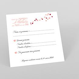 Carton réponse mariage Romeo et Juliette