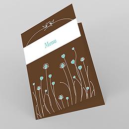 Menu mariage Idylle chocolat