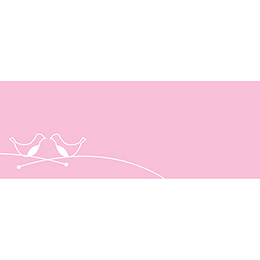 Marque-place mariage Idylle rose gratuit