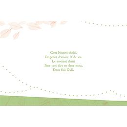 Faire-part de mariage Nature  gratuit
