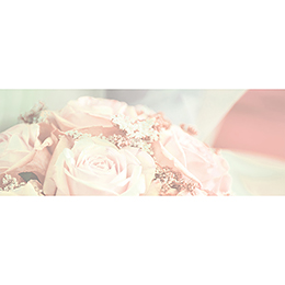 Marque-place mariage Florilège rose  gratuit