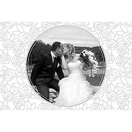 Carte de remerciement mariage Vendôme  pas cher