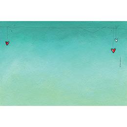 Save-the-date mariage Tendre espièglerie gris vert gratuit