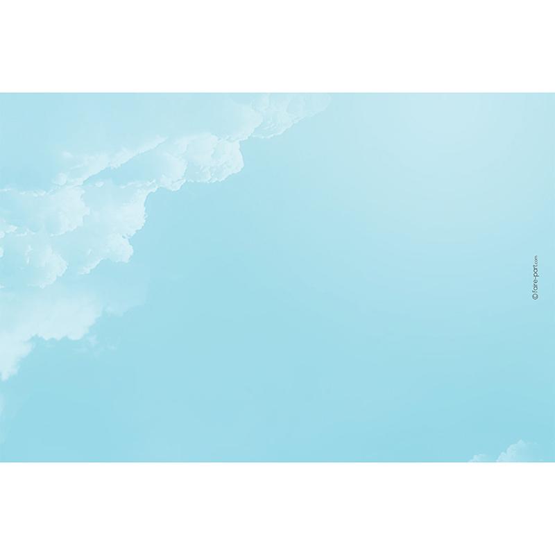 Save-the-date mariage Bleu ciel  gratuit