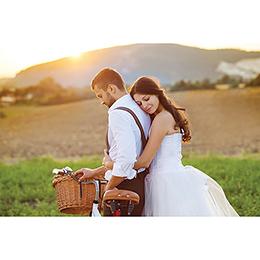 Carte de remerciement mariage Authenticité gratuit