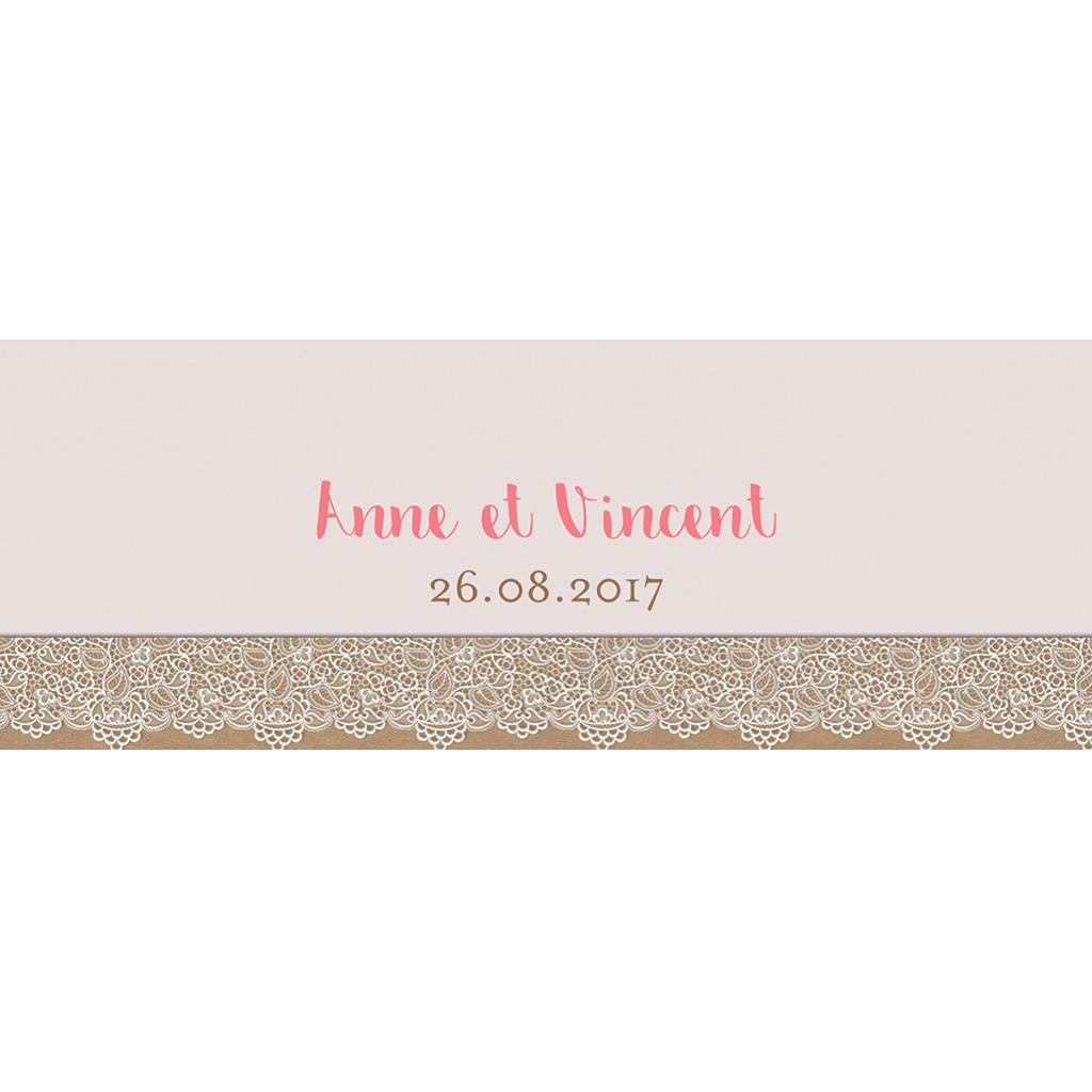 Marque-place mariage Bohème Chic gratuit