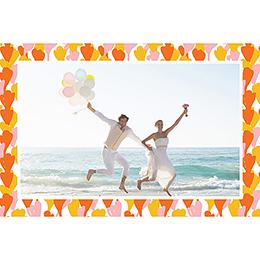 Carte de remerciement mariage Exaltation pas cher