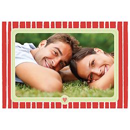 Carte de remerciement mariage Gourmandise  pas cher