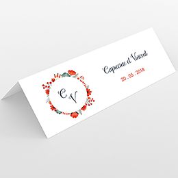 Marque-place mariage Poppy