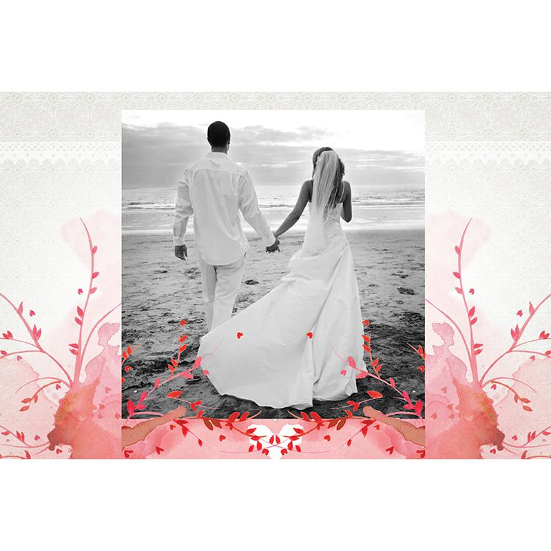 Carte de remerciement mariage Au bois dormant  gratuit