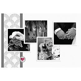Carte de remerciement mariage Complicité  pas cher