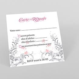 Carton réponse mariage Rêverie