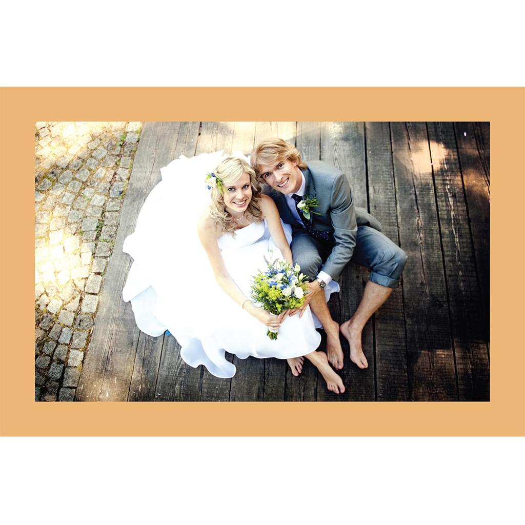 Carte de remerciement mariage Idylle blanc gratuit