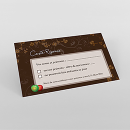 Carton réponse mariage Tentation