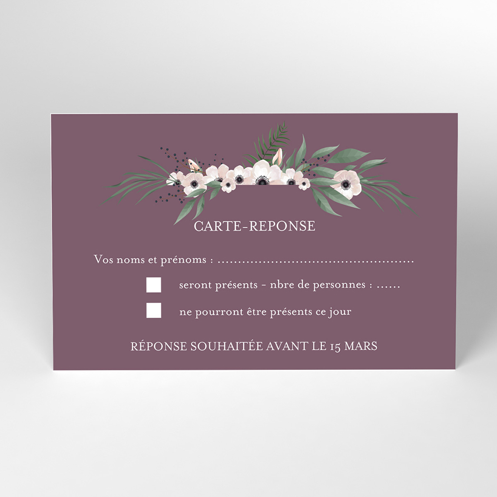 Carton réponse mariage Woody