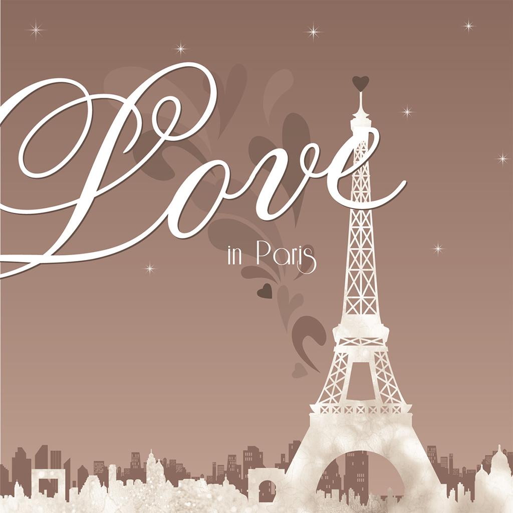 Faire-part de mariage Paris sépia pas cher