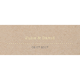 Marque-place mariage Pretty love story  pas cher