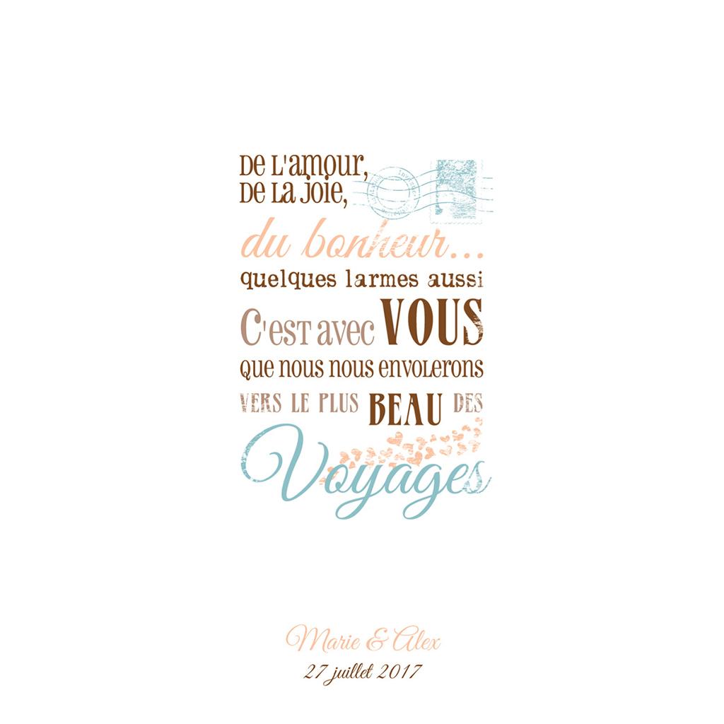 Menu mariage Ulysse et Pénélope  pas cher