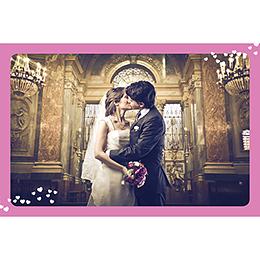 Carte de remerciement mariage Romeo et Juliette  gratuit