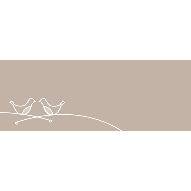 Marque-place mariage Idylle beige gratuit