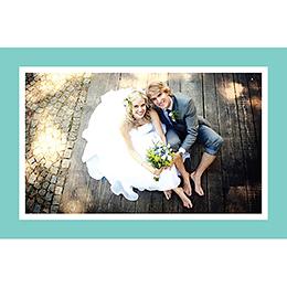 Carte de remerciement mariage Idylle chocolat gratuit
