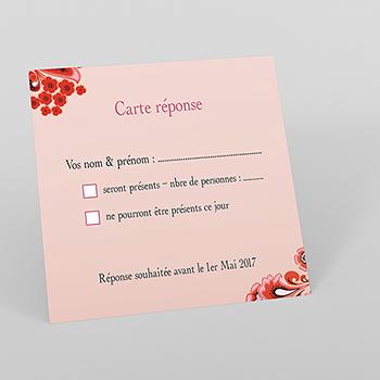 Carton réponse mariage Matriochkas