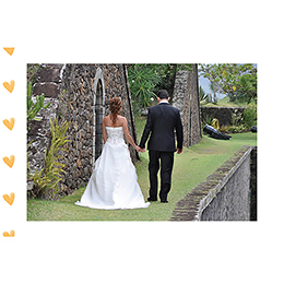 Carte de remerciement mariage Bol d'amour  gratuit