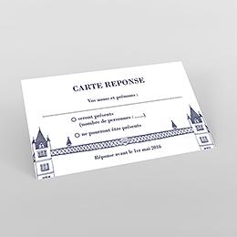 Carton réponse mariage Londres
