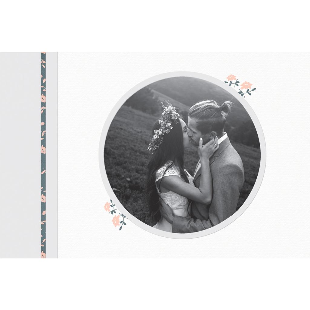 Carte de remerciement mariage Simplicité gratuit