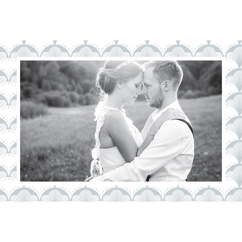 Carte de remerciement mariage Mistinguett gratuit