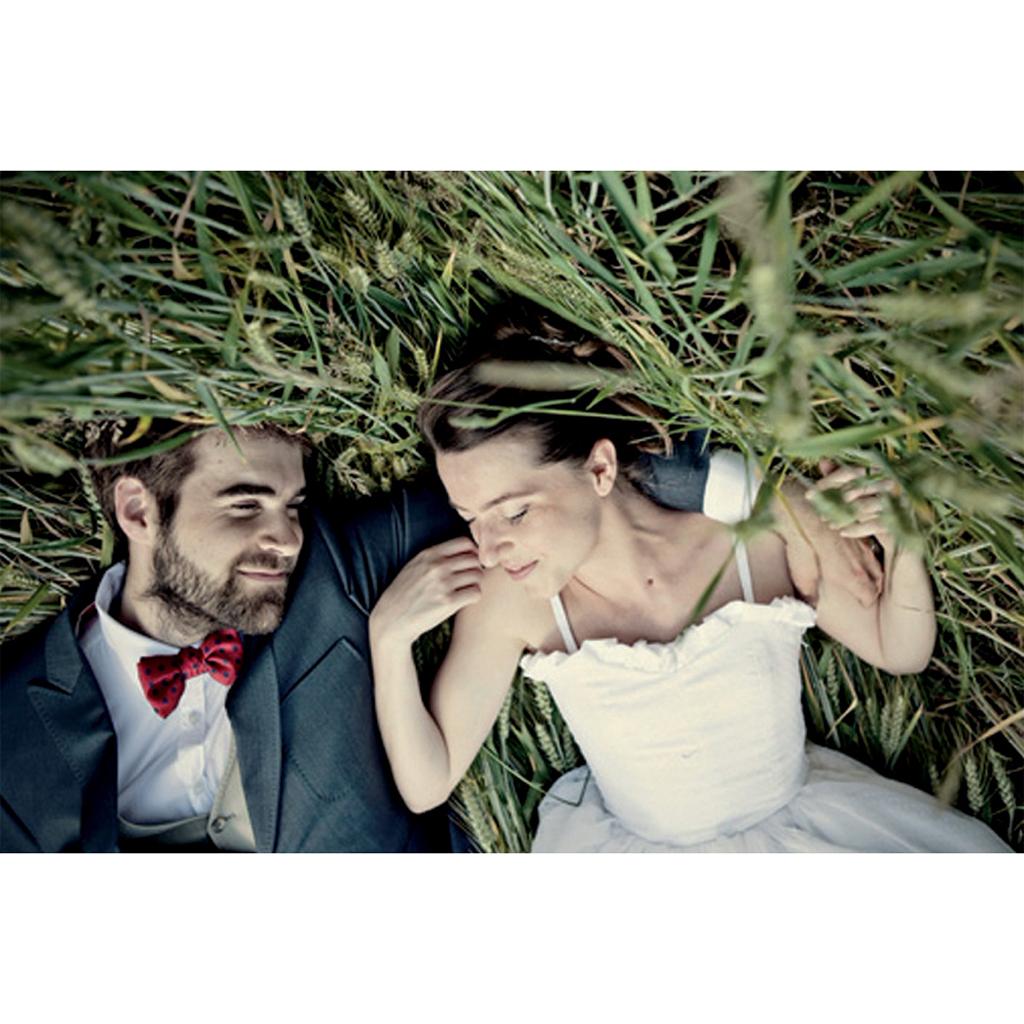 Carte de remerciement mariage Nature Aquarelle gratuit