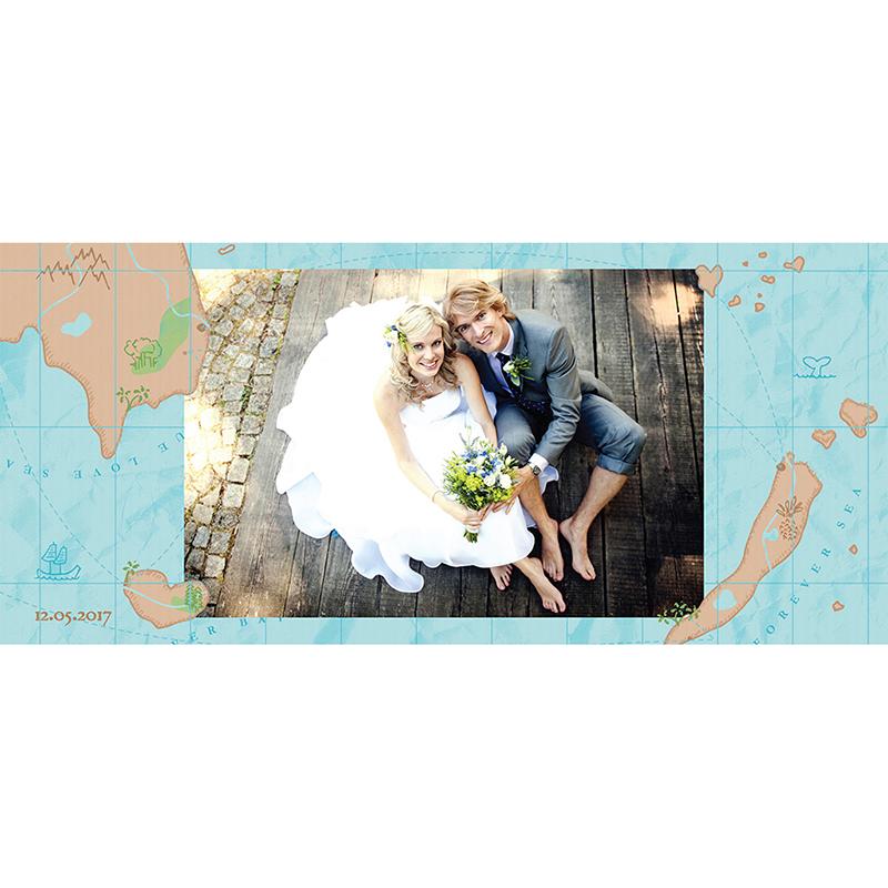 Carte de remerciement mariage Trésor  gratuit