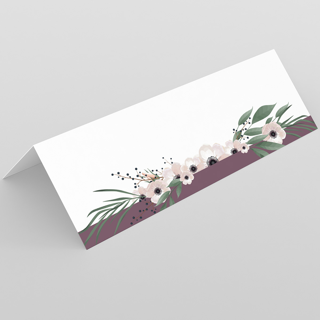 Marque-place mariage Woody