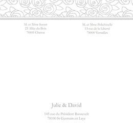 Faire-part de mariage Vendôme  gratuit