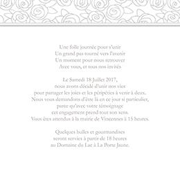 Faire-part de mariage Vendôme
