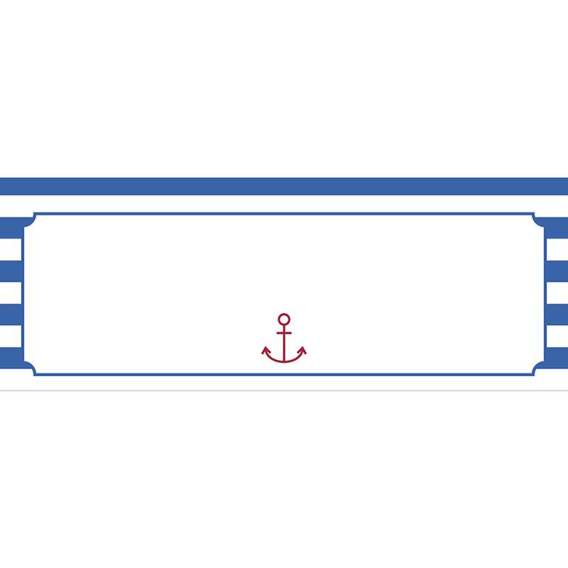 Marque-place mariage Navy chic  gratuit