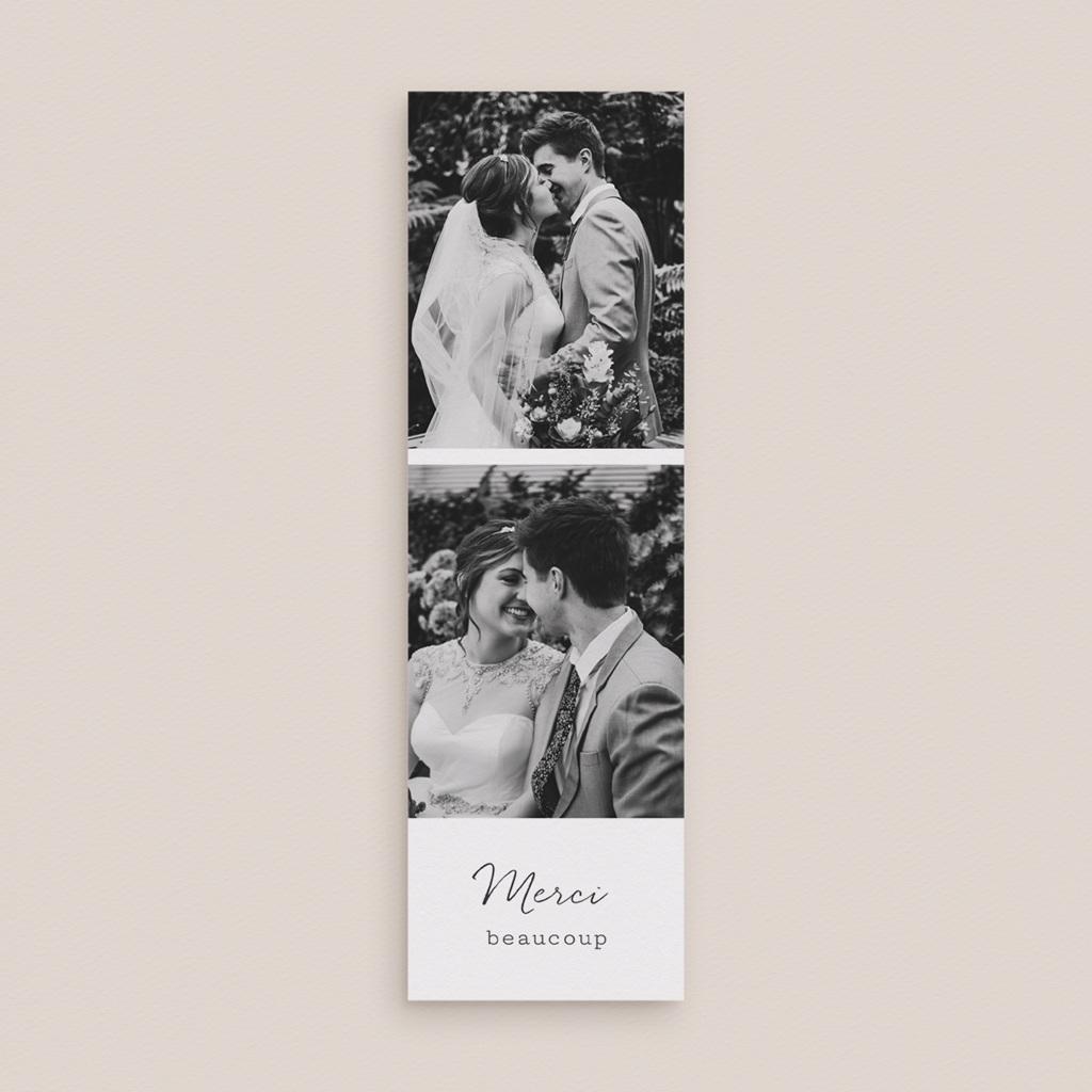 Carte de remerciement mariage Arche de fleurs pourpres, 2 en 1 gratuit